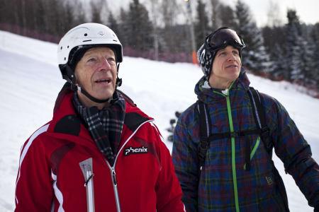 BRYTER: Gerhard Heiberg bryter samarbedet med Snowboardforbundet. Foto: Olav Stubberud