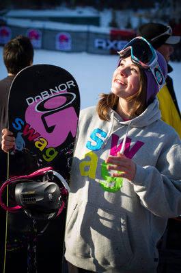 Helene Olafsen tok sitt andre X Games-sølv på to år. Bilde: NSBF