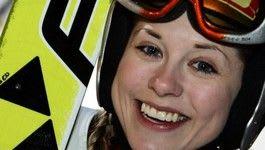PRØVEHOPPER? Vil Anette Sagen innvie TAC-slopestylen?