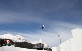 PÅ TREDJE: Boardercross-Olafsen er klar for slopestylesemi i Davos. Foto: Thomas Harstad
