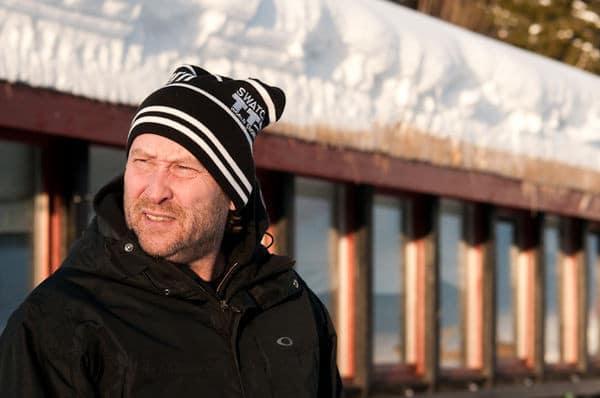 AVVENTER: Henning Andersen jubler ikke over OL helt ennå. Foto: Peter Gløersen.
