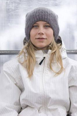 NOMINERT: Kjersti Buaas er nominert i klassen for årets kvinnelige snowboarder. Foto: NSBF