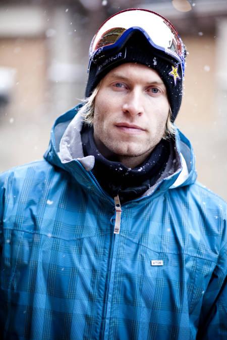 UMOTIVERT FOR VM: Andreas Ygre Wiig. Foto: Snowboardforbundet.