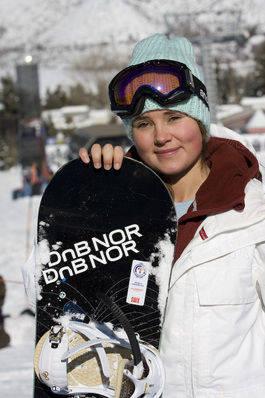 Helene Olafsen vant verdenscuprennet i sveitsiske Leysin.