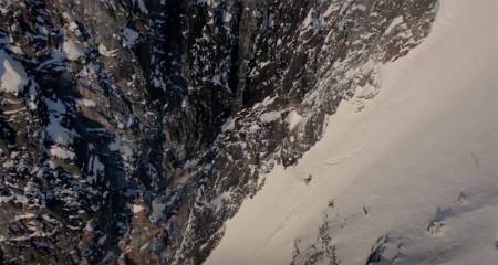 RÅSKALLE: Xavier de le Rue er verdens beste storfjells-snowboarder, og stjerna i filmen som du ser nå.