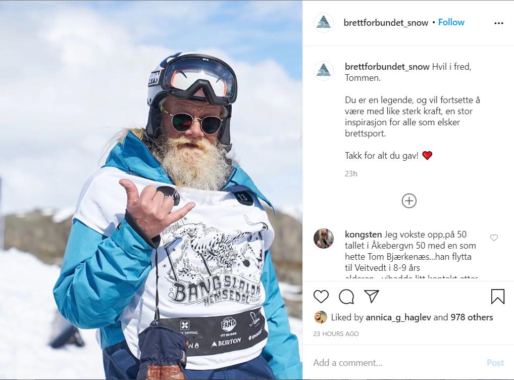 Instagram tommen snowboardforbundet