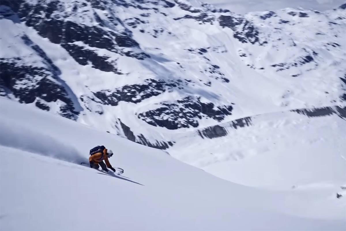 TURN ON MIND: Se Patagonias nyeste film her. Foto: Skjermdump