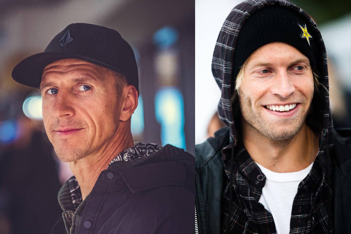 VITNER: Terje Håkonsen (t.v.) og Andreas Ygre Wiig skal vitne for Santa Cruz. Foto: Bård Gundersen/Christian Nerdrum