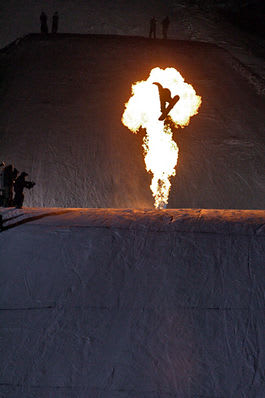 Andreas Wiigs finalehopp tok han til seier i Vail. Foto: Timothy Peare