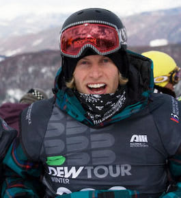 Wiig vant Best Trick under Dew Tour i Breckenridge, Colorado. Foto: Roger Hjelmstadstuen.