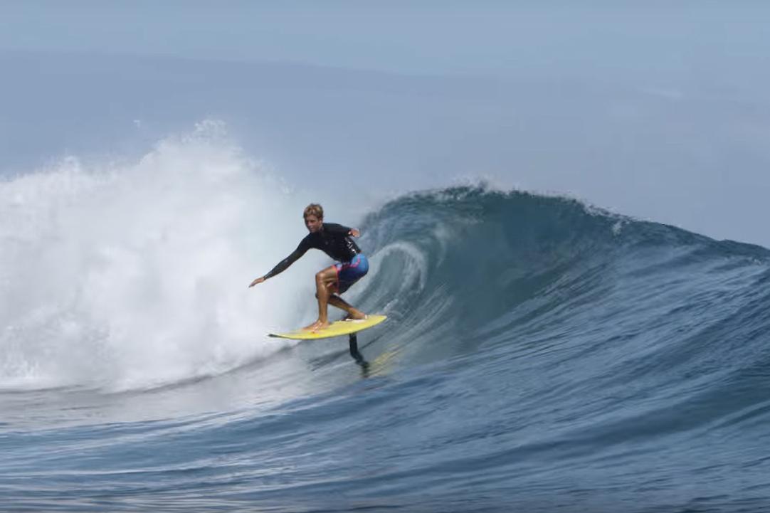 – Den beste følelsen jeg har hatt på surfbrett