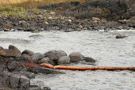FRYKTER MER: Det verste er trolig over, men lenser legges fortsatt ut i området. Foto: P.Gløersen.