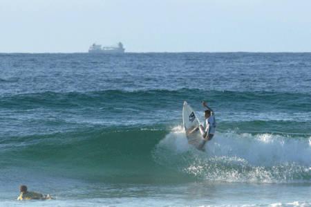 SURFS UP PÅ LØRDAG: Forholdene ser ut til å bli knallbra for Volcom Codfish lørdag!