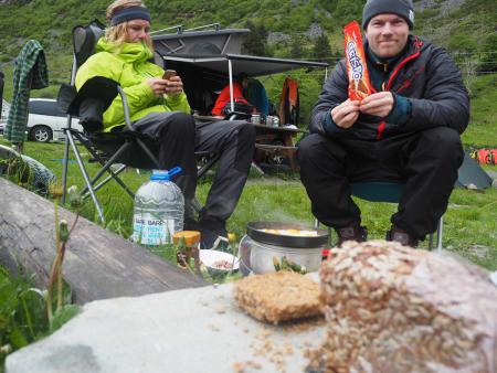 Brynjar Åmot og Sindre Iversen