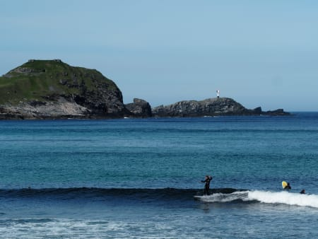 Ukjent surfer, Ervika