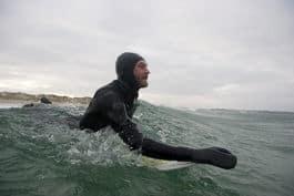 KLAR: En av Norges desiderte surfetopper stiller i Lapoint Surfout under Surfefestivalen.