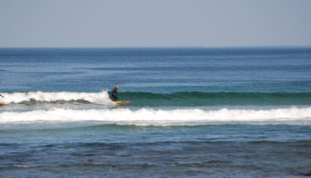 XCELLENT: Fine bølger! Foto: Lapoint.