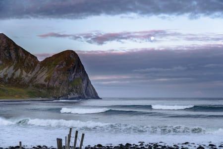 Magisk stemning i Lofoten. Foto: Hallvard Kolltveit