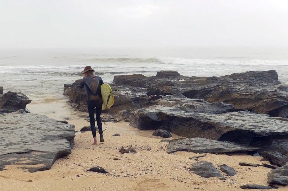 FRI SJEL: Bruce Gold er på stranden har nar tilbrakt tusentalls timer i løpet av livet.  Foto: Skjermdump