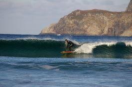 PROGRAMMERT: Det blir nok å ta tak i for surferne i Hoddevika denne helgen.