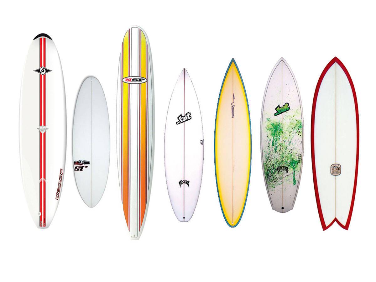 BRETTJUNGEL: Vi avslører hvordan du velger riktig surfbrett for sommerens store bølgeopplevelser.