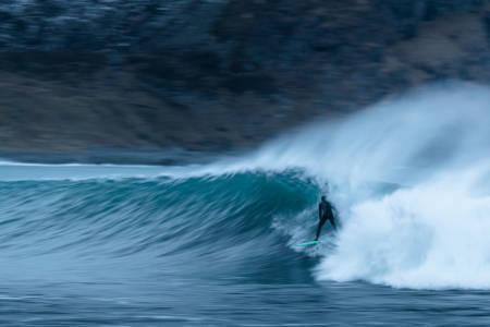 Foto Unstad surfing