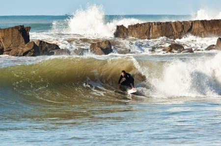 FLOTTE GREIER: Surfing i Marokko. Foto: Christian Nerdrum.