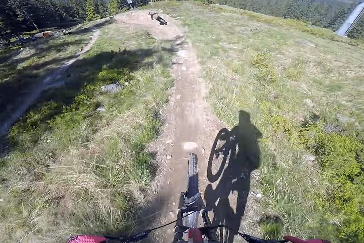Bli med ned Hafjell Bike Park