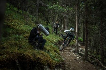 BESTE FILM: Det holdt med en eneste syklist for å dra hjem seieren til Blur Media-gjengen. Foto: Vegard Breie
