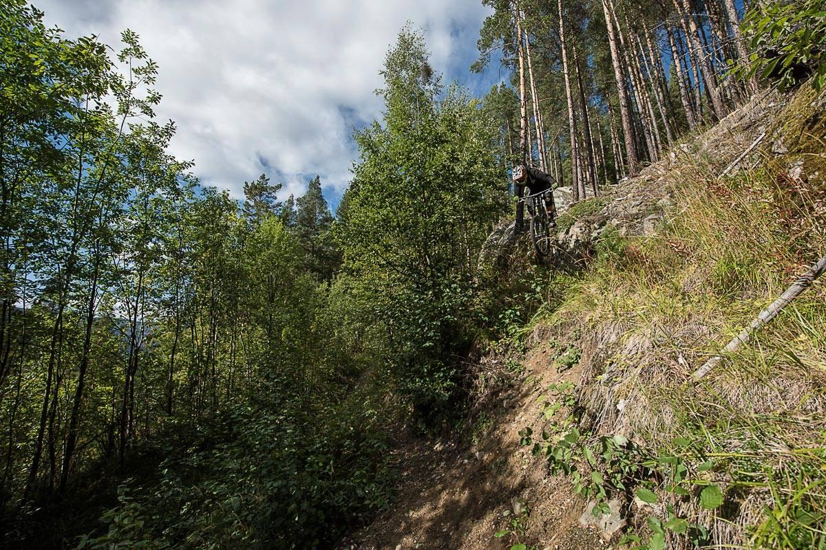 NESBYEN: Se Knut Myking teste Nesbyen. Foto: Vegard Breie