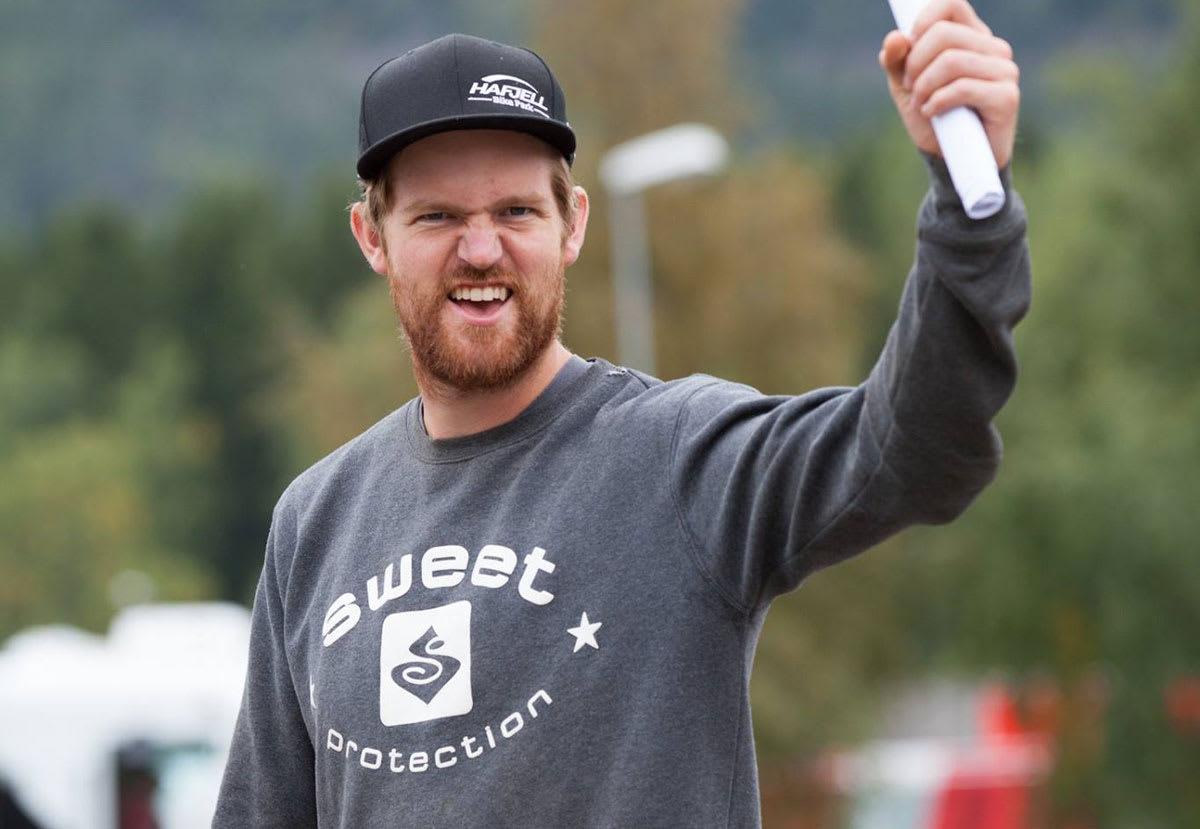 FORNØYD: Knut Løkås er glad ventinga er over og at han har jobb som sykkelparksjef neste sommer.