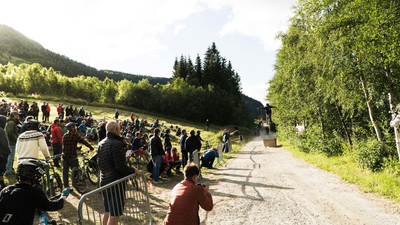 Det var et flott oppmøte på festivalens første dag og første aktivitet.