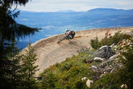 IKKE NOK TRAFIKK UTENFOR HELGER: Hafjell Bike Park har kun åpent helger og noen fredager denne sommeren – selv om interessen for heisbasert sykling skal være økende.