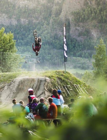 Med denne backflip'en vant Mikkel Jemtegaard Best Trick prisen.
