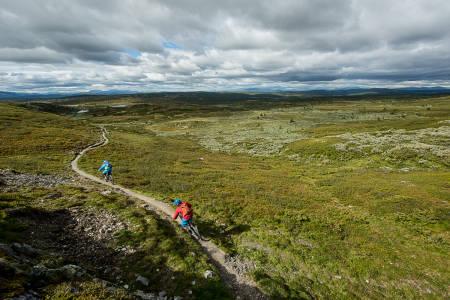 SKEIKAMPEN: Bli bedre kjent med stiene på Skeikampen. Foto: Vegard Breie
