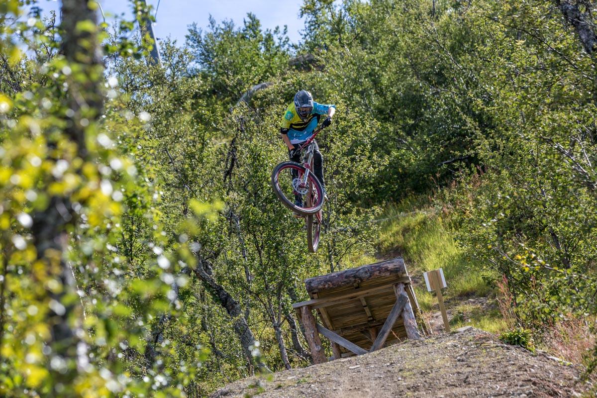 ÅPNER: Til helgen åpner sykkeltilbudet på Geilo. Foto: Paul Lockhart / Geilo Holiday