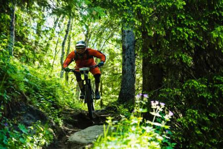 NORDISK MESTERSKAP: For første gang skal det kåres en nordisk mester i endurosykling, nemlig i Åre 4 . juli. Foto: Mattias Fredriksson