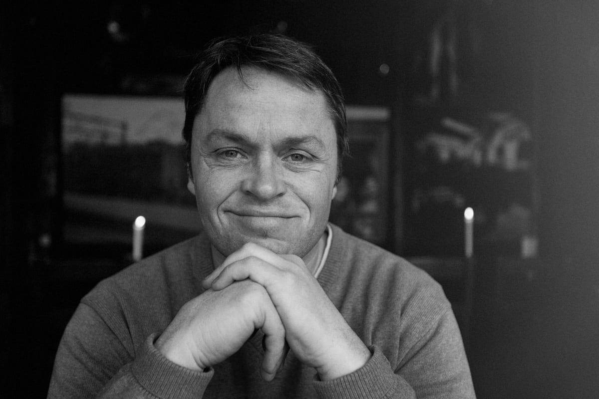SLUTTER: Snorre Pedersen har sagt opp jobben som daglig leder i Hafjell Bike Park. Foto: Kristoffer Kippernes