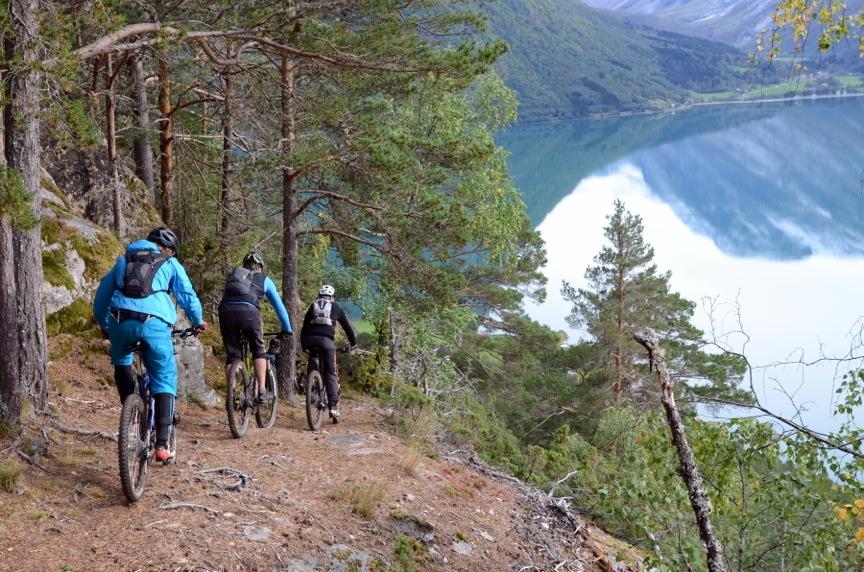 Sykkelsuksess på Stryn