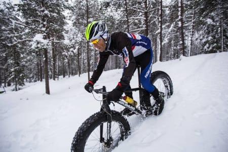 Sykler uten luft i dekkene (!)