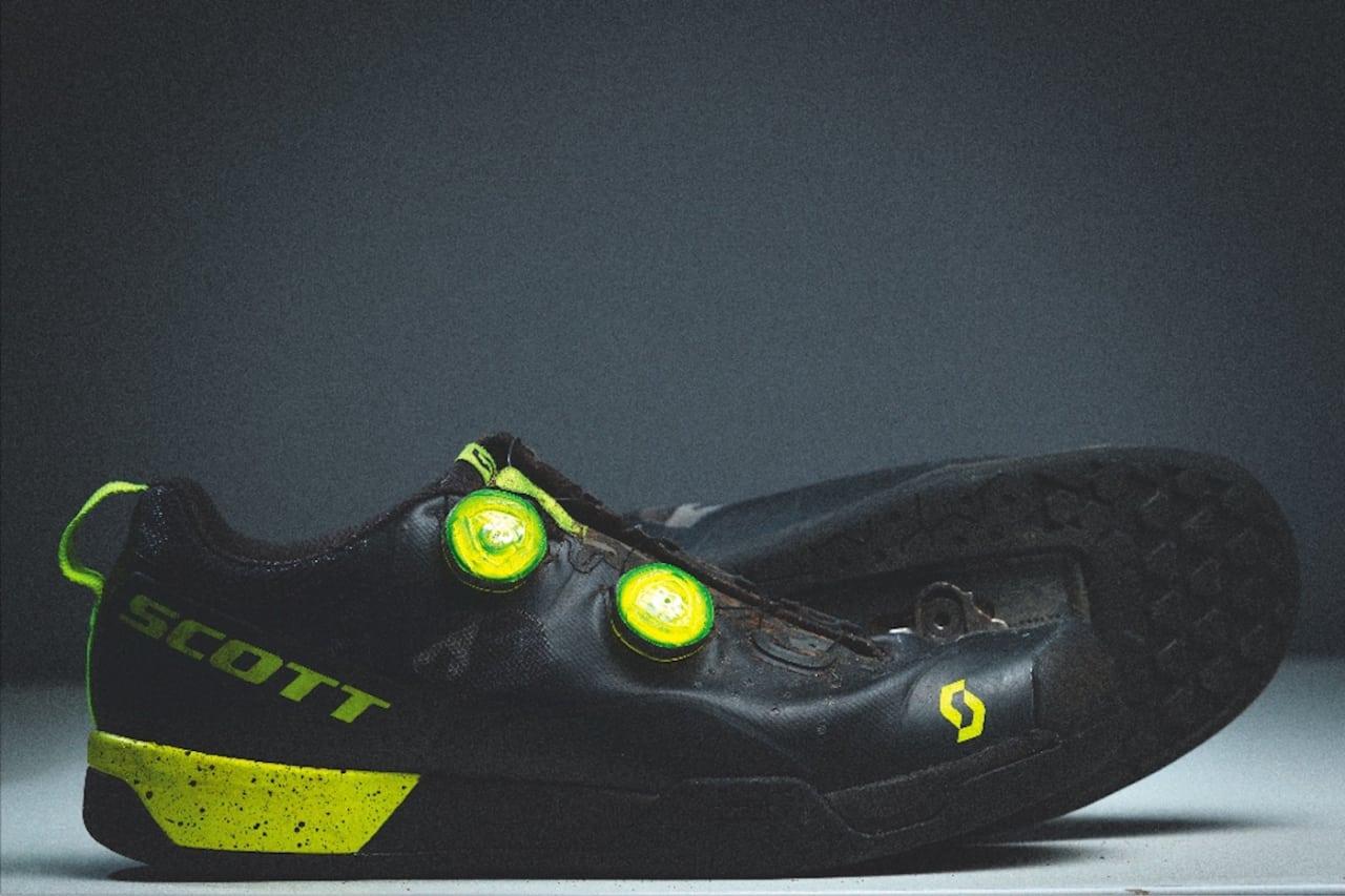SOLID: Scotts MTB AR-sko er litt tung, men solid konstruert.