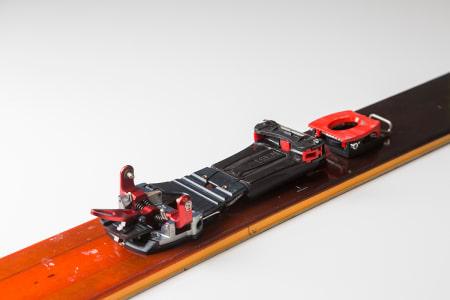 EN FJÆR FOR ALT: M Equipment har en egen fjær i den justerbare utløsningsfunksjonen. Foto: Kristoffer H. Kippernes