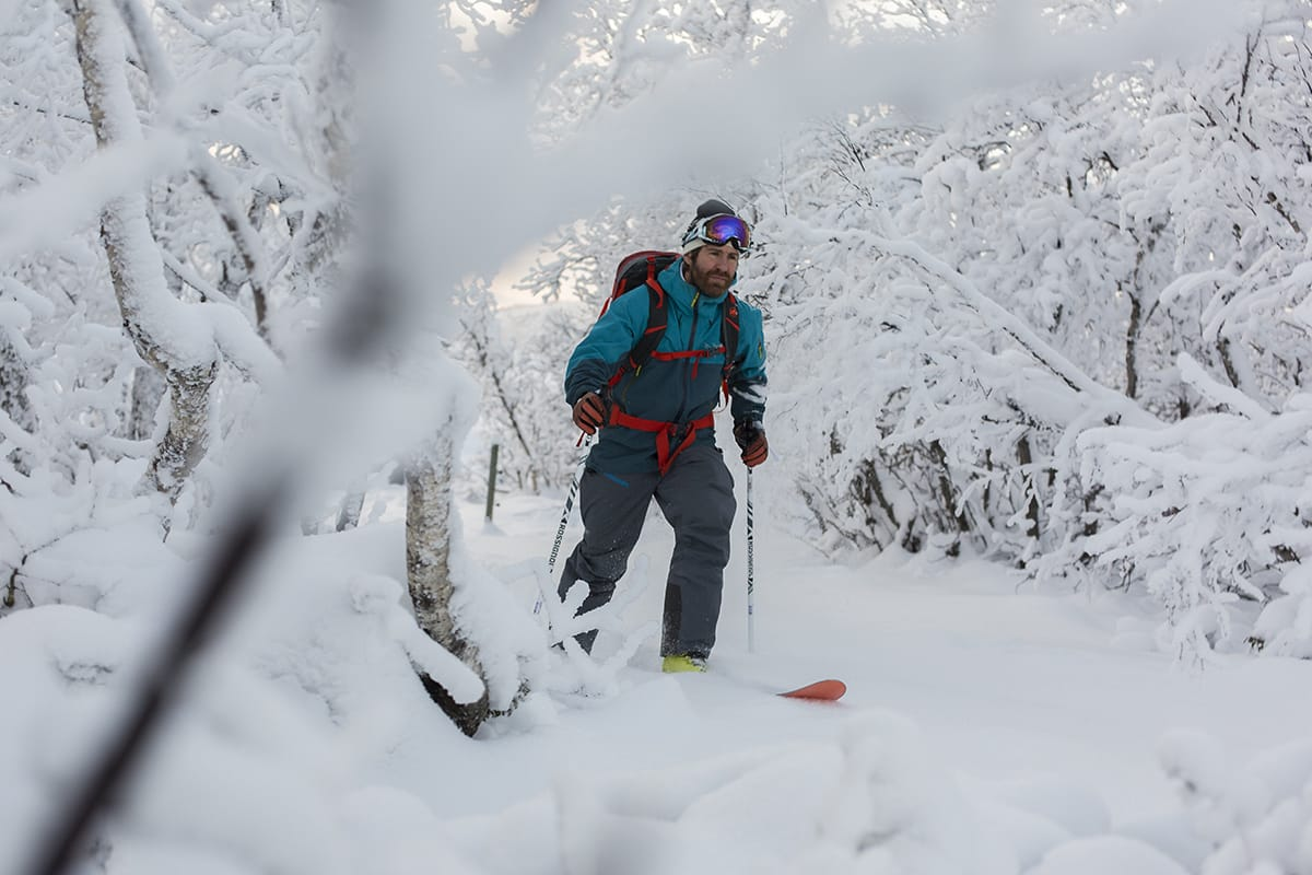 FERSK SNØ: Siste del av testen ble gjort i Havsdalen på Geilo det første skianlegget som åpnet for vinteren. Foto: Kristo er Kippernes