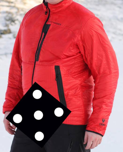 FEMMER: Helly Hansen Odin Insulator Jacket er bra greier, som de aller fleste kan ha god bruk for.