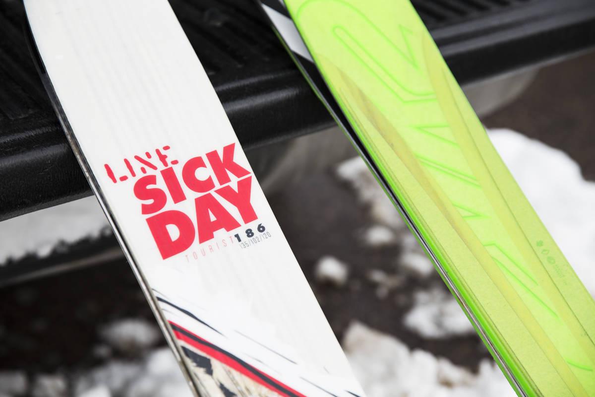 NYE TIDER: Smalt og lett er tidens melodi. Vi har tatt noen runder på neste års Line Sick Day Tourist og K2 Pinnacle. Foto: Hans Petter Hval