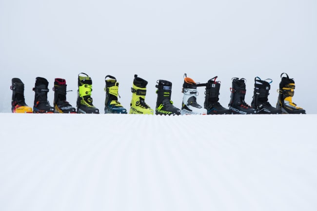 Test av lette toppturstøvler