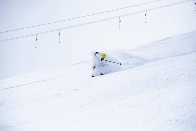 Test av sesongens brede toppturski