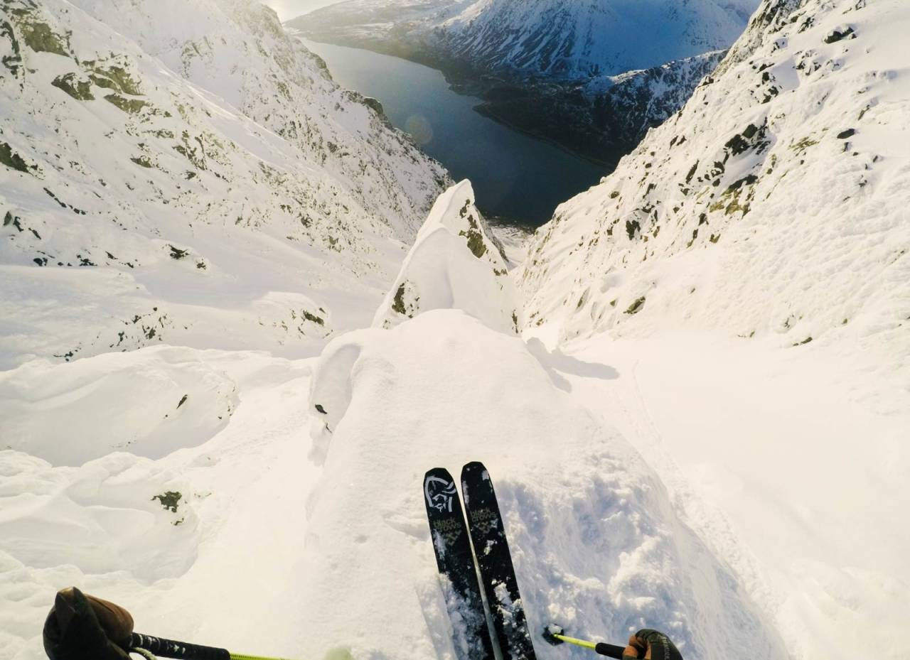 UNIK: Gudmor-renna i Lyngen er blant de største i landet. Nikolai Schirmer er en av få som har kjørt Xavier de le Rues alternative start. Bilde: Nikolai Schirmer