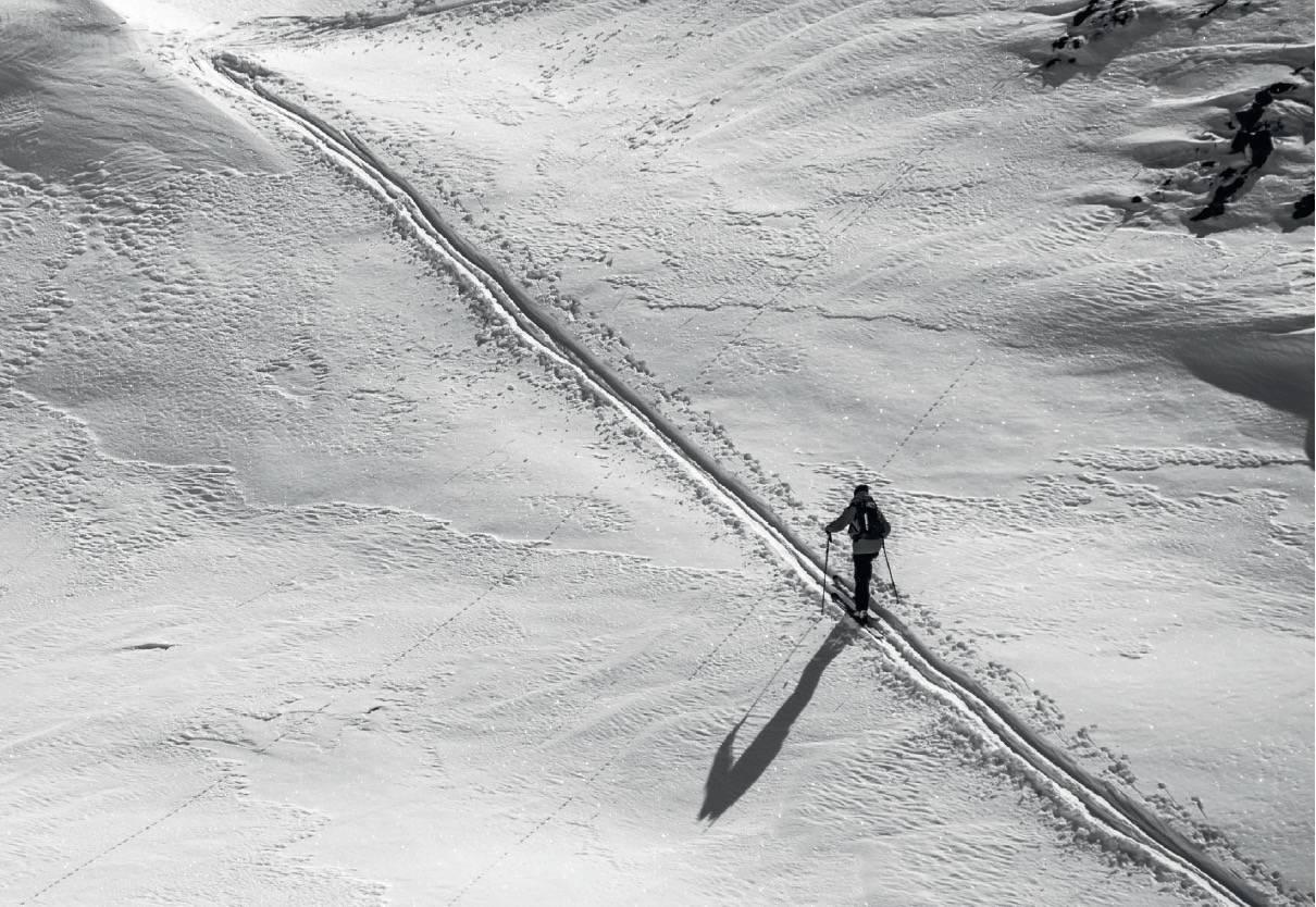 OPPTUR: Å legge et perfekt spor er en kunst. Foto: Scott Rinckenberger