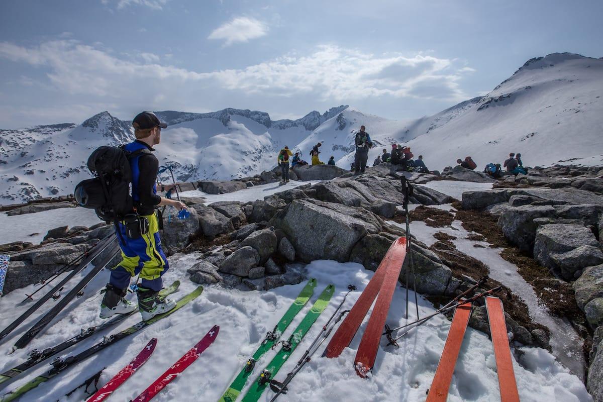 Været bidro til knallstart for Rosendal Toppturfestival. Foto: Rolf Christian Mehl